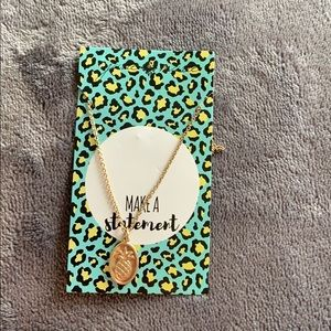 A PINEAPPLE NECKLACE